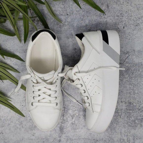 Ltd Tony White Platform Sneakers   Poshmark